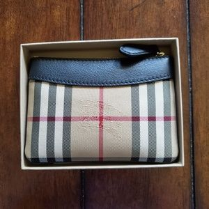 Burberry Bags - Burberry Putney Horseferry Mini Pouch
